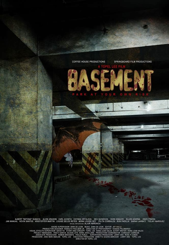 My Movie World: Basement Official Poster