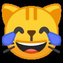 LMAO Cat emoji