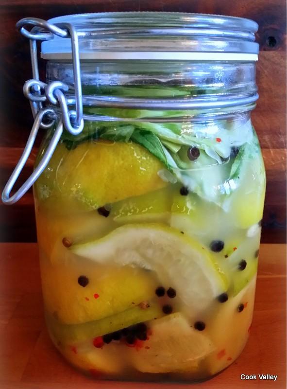 fermenterede citroner