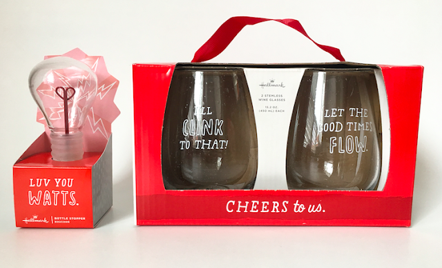 Hallmark Valentine's Day 2017 - Wineglasses  #LoveHallmarkCA