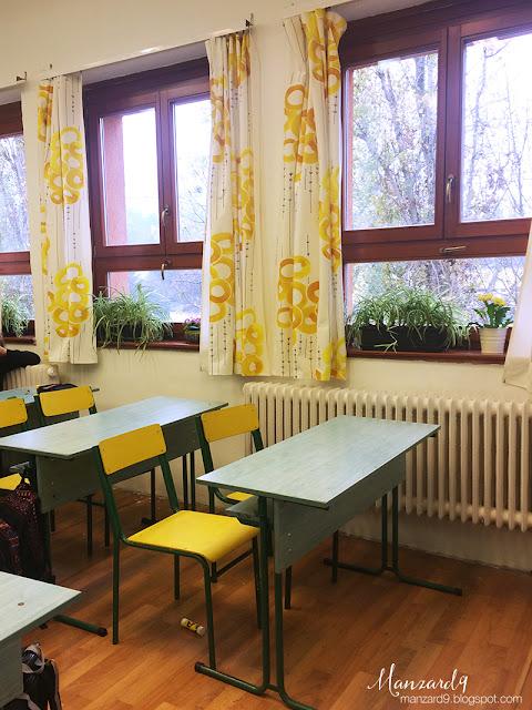 DIY osztályterem felújítás - kész lett, szép lett