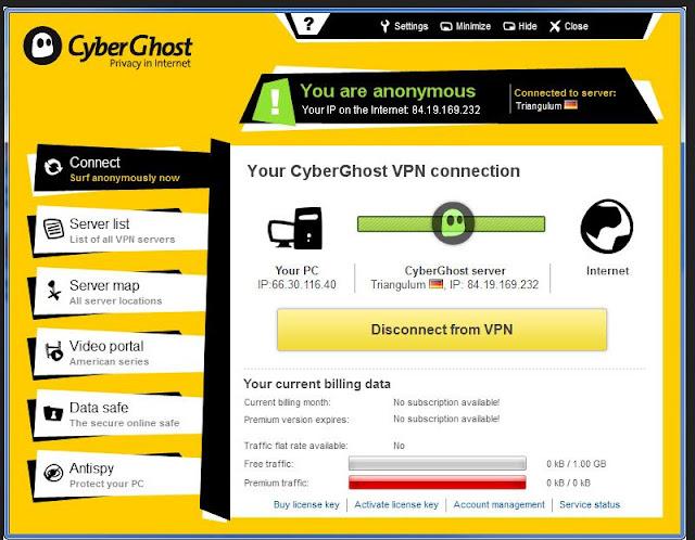 كود تفعيل برنامج GhostVpn  لمدة عام كامل