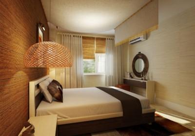 interior rumah type 36 - kamar tidur