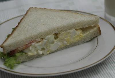 Resepi Sandwich Telur Hancur Yang Mudah