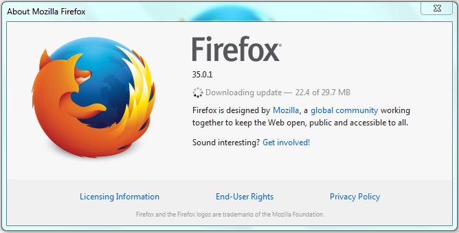 Cara update mozilla Firefox