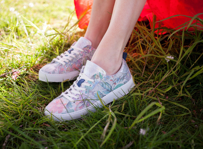 Torfs Post Xchange sneakers with mosaic print