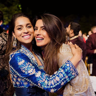 Lilly Singh with Priyanaka