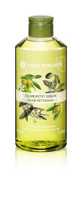Gel de Ducha 400 ml RELAX Oliva y Naranjo amargo línea Plaisirs Nature Yves Rocher