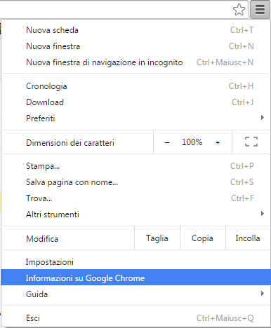 Personalizza e controlla Google Chrome
