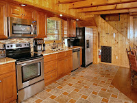 Modern Kitchen cabins Pigeon Forge