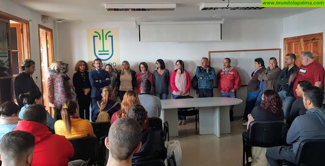 Más de 70 jóvenes se formarán y trabajarán bajo la tutela del Cabildo en el marco de la tercera edición del proyecto 'La Palma SI'