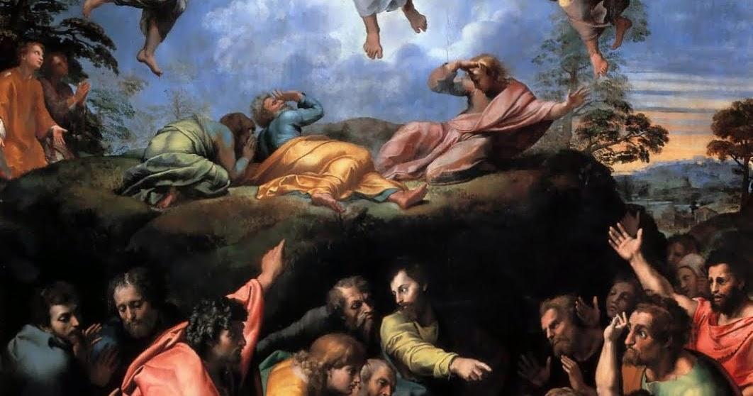Moda: ''La transfiguración'', Rafael. Pintura