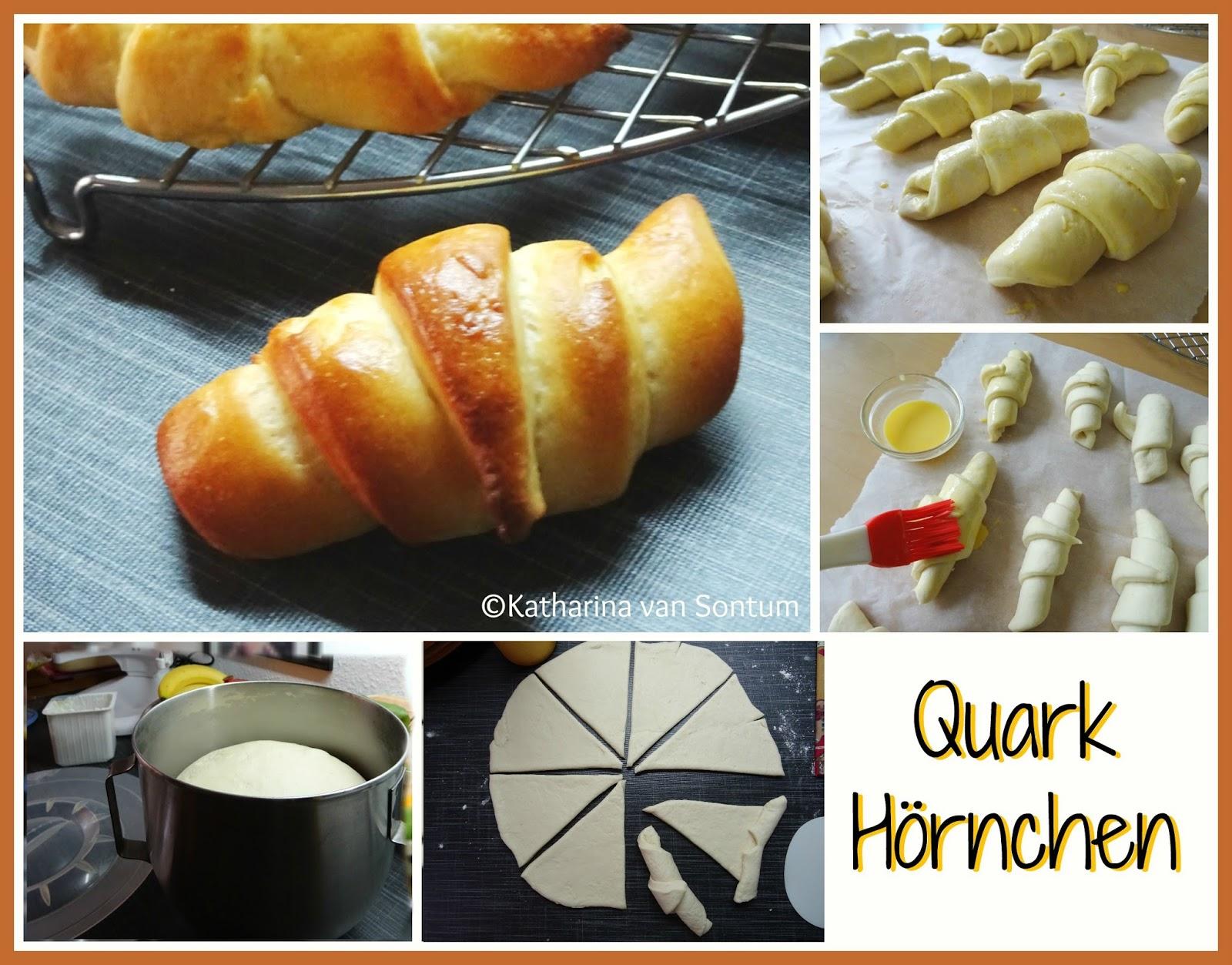 Amerikanischer Kühlschrank Quark : Ich hab da mal was ausprobiert: quark hörnchen