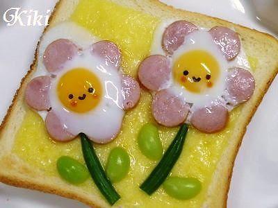 margherite di wurstel e uova