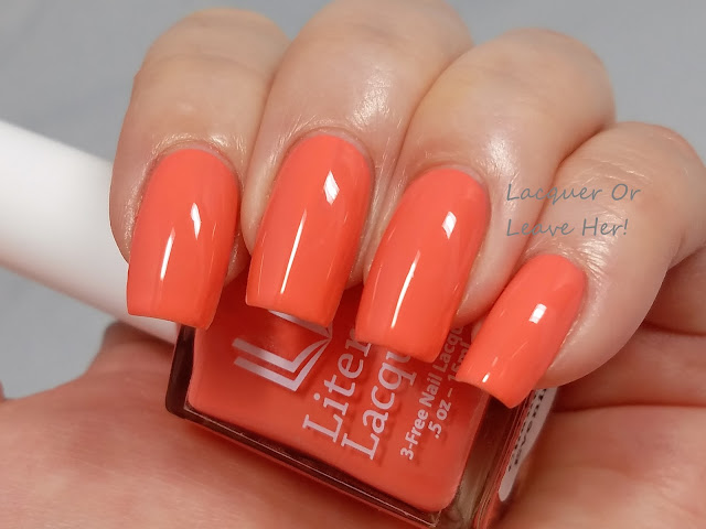 Literary Lacquers Salmon Chanted Evening