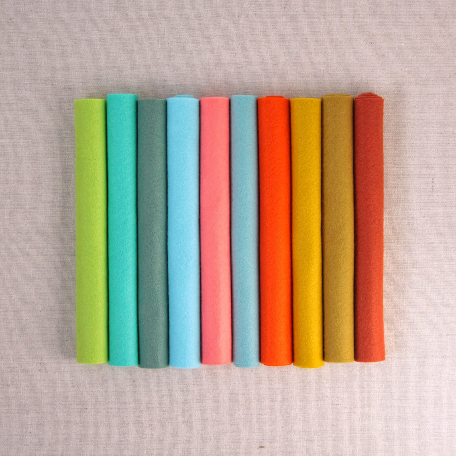 Mmmcrafts: Curated Felt Color Collection For French Hen