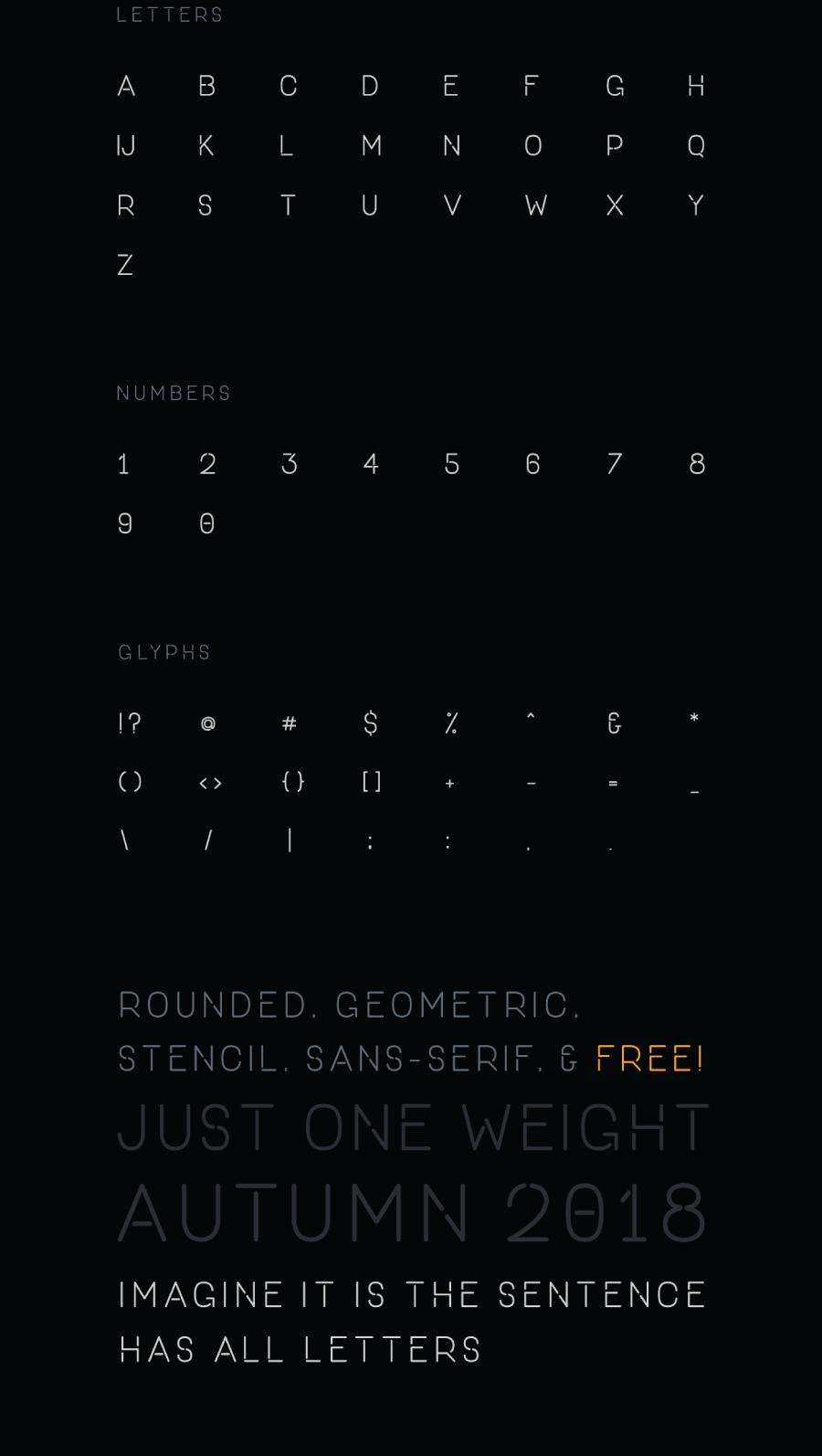 خط ون داي مجانا ONE DAY Free Font