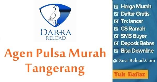 Cara Daftar Jadi Agen Pulsa Murah Tangerang di Darra Reload