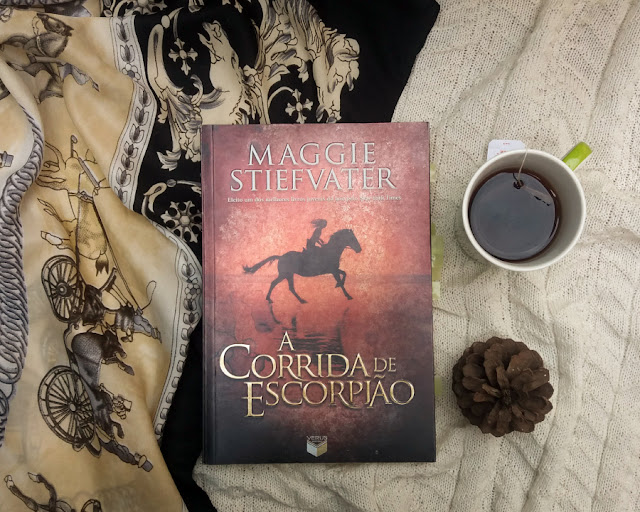 motivos para ler A Corrida de Escorpião - Maggie Stefvater