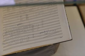 Detail of Canticle I by Benjamin Britten ©Britten-Pears Foundation