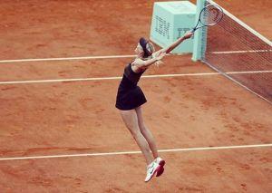 Maria Sharapova Latihan