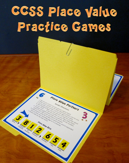 Corkboard Connections Place Value Practice Makes Perfect