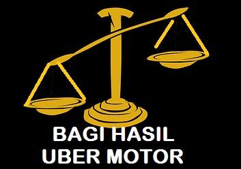 bagi hasil uber motor, sistem bagi hasil uber motor, gaji uber motor, penghasilan uber motor