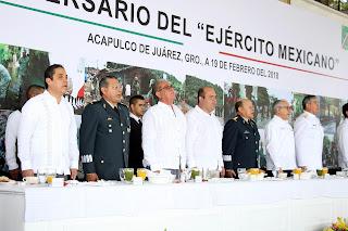 Reconoce Evodio labor del Ejército Mexicano en su Día
