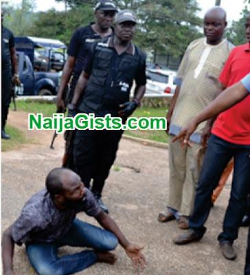 human smuggler arrested saki oyo state