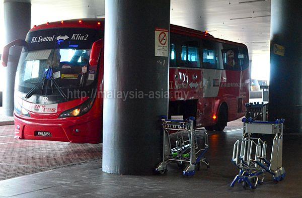 KLIA 2 Bus to KL Sentral