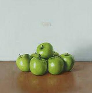 frutas-en-representaciones-hiperrealistas-oleo bodehones-hiperrealistas-pinturas