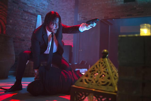 Super-acțiune cu Keanu Reeves în filmul John Wick