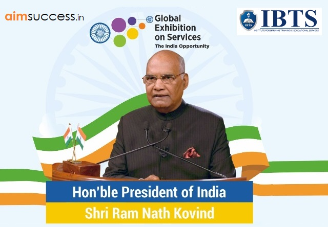 President Kovind inaugurates Global Exhibition on Services-2018