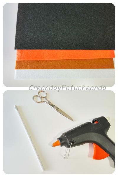 materiales-lápiz-de-olaf-en-fieltro