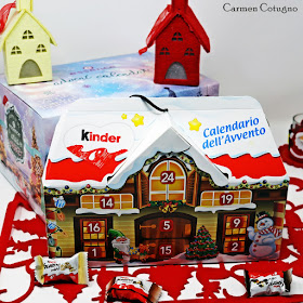 calendario dell'avvento kinder