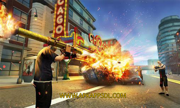 Download Chicago Crime Simulator 3D Mod Apk v1.1 Full Version 2016