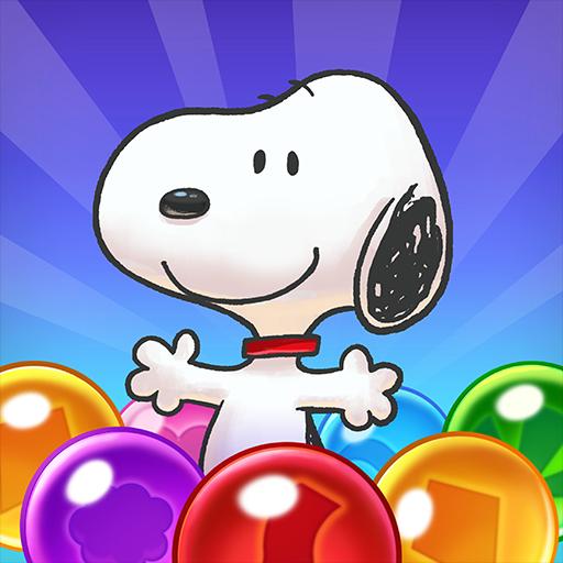 تحميل لعبه Snoopy Pop - Free Match, Blast & Pop Bubble Game اخر اصدار