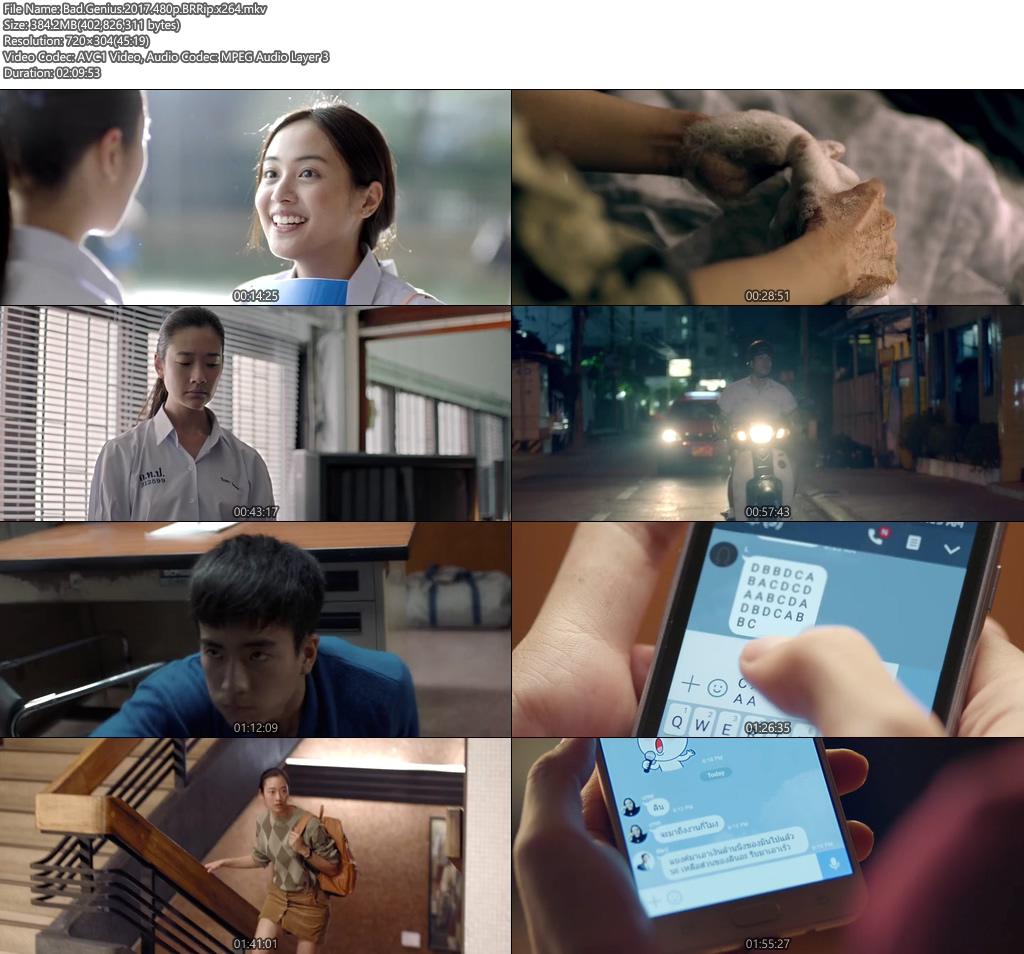 Bad Genius 2017 480p BRRip 400MB x264 Screenshot