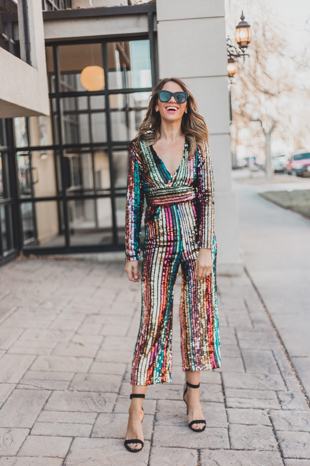 New Years Eve Sequin Jumpsuit