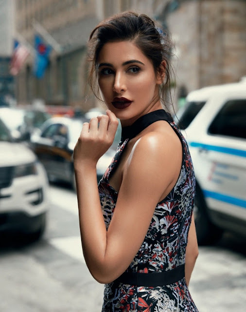 Nargis Fakhri Features on the latest issue of Grazia Magazine