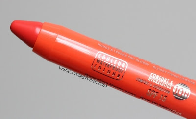 Bourjois Color Boost Glossy Finish Lipstick - Orange Punch