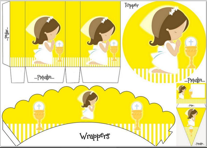 Dibujos De Comunion Para Imprimir Y Colorear: Dibujos Color Amarillo Para Imprimir