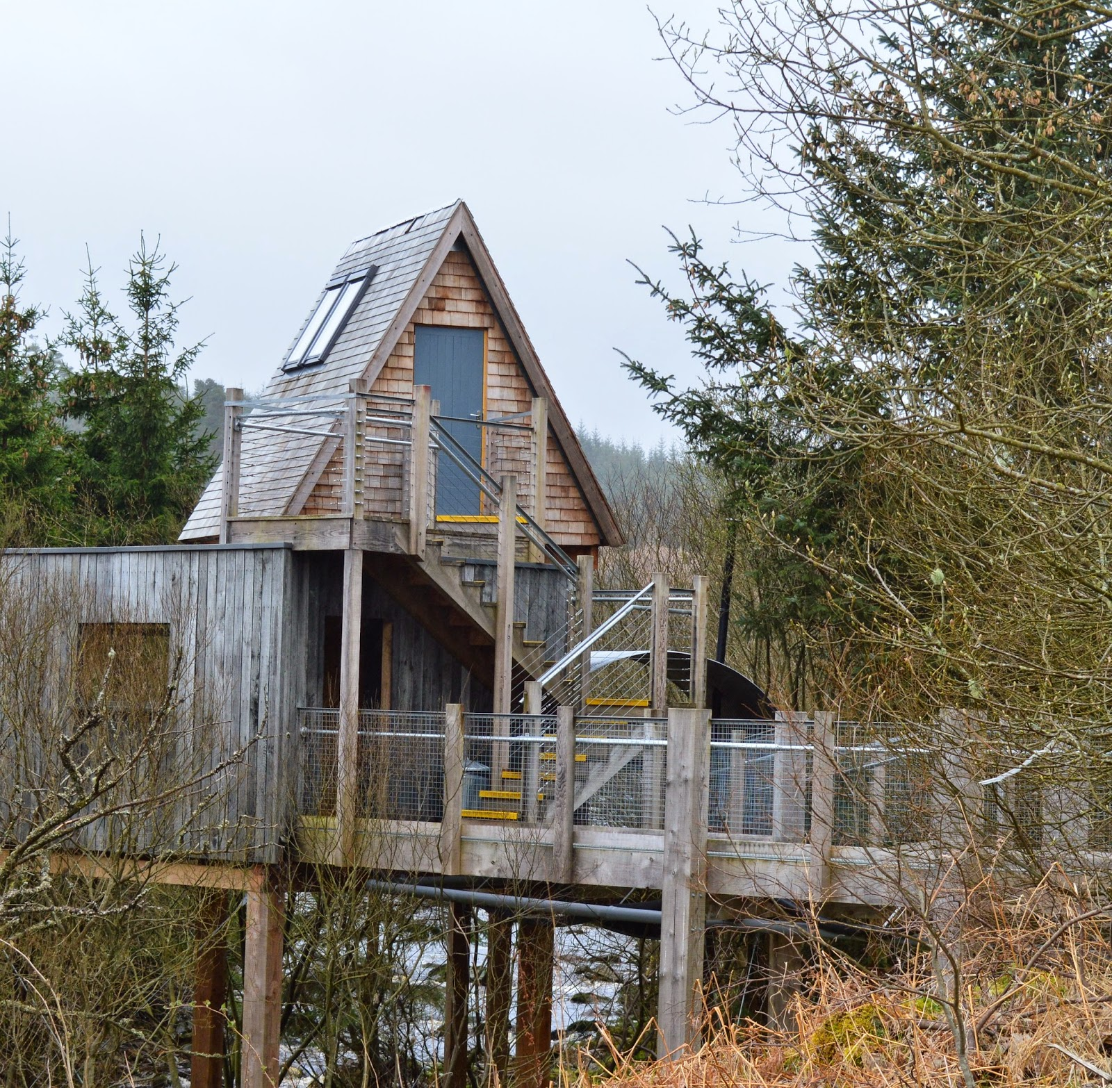 5 unique places to celebrate your wedding anniversary in North East England | Sky Den Tree house Kielder