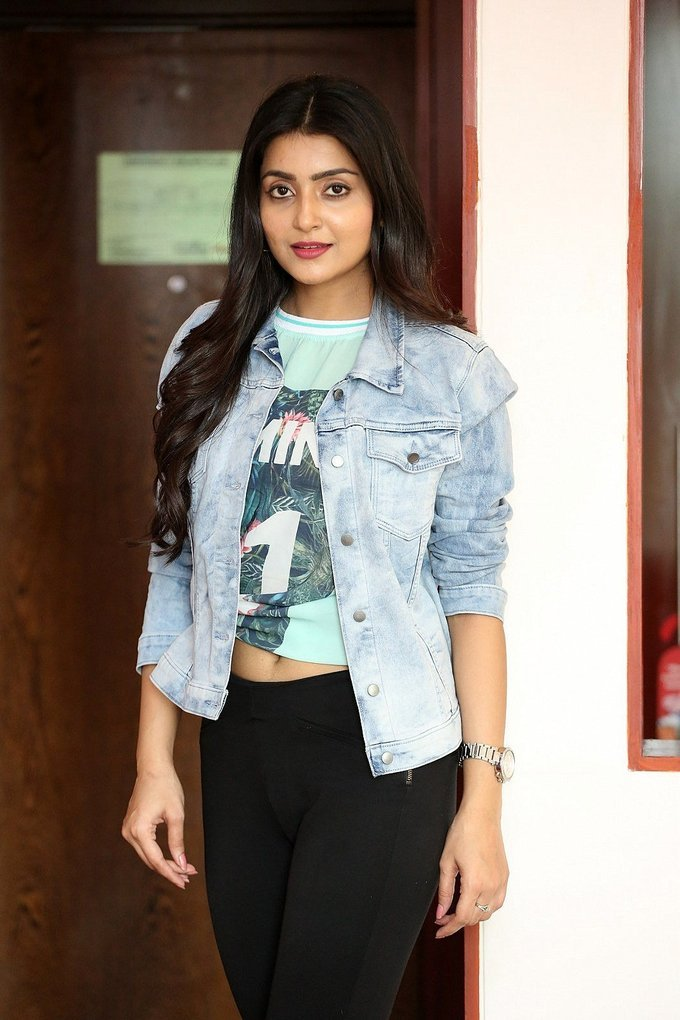Avanthika At Vaisakham Movie Triple Platinum Disc Function