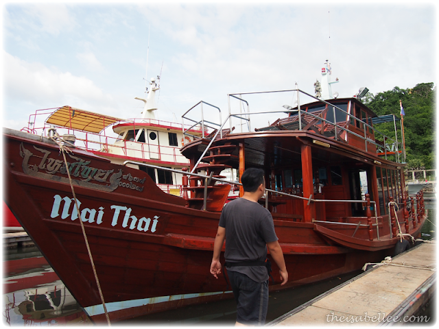 Fishing boat for rent in Hua Hin