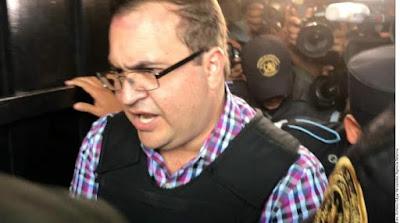 Javier Duarte se declarará culpable de lavado de dinero y asociación delictuosa