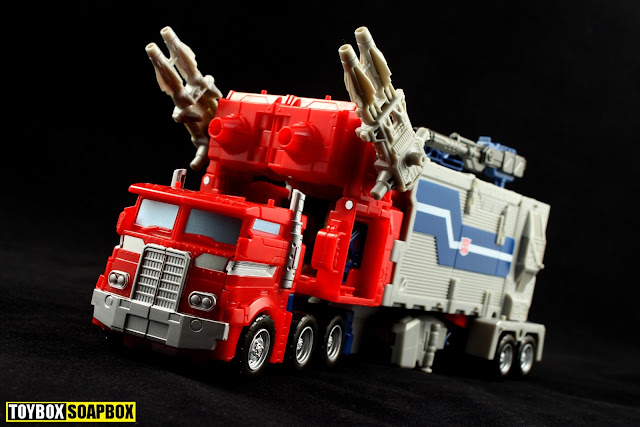 legends super ginrai truck mode