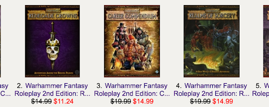 Warhammer Fantasy Roleplay 2nd Edition now available in PDF at RPGNow