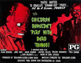 Los niños no deben jugar con cosas muertas / Poster