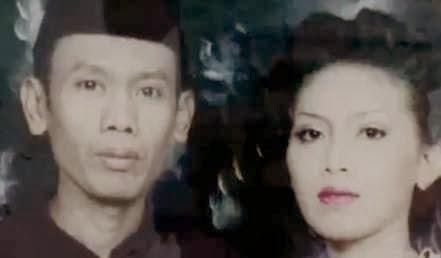 Foto pernikahan Ucup Nirin